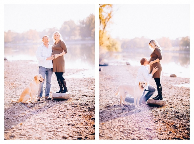 Sweet October Maternity Session Geneva IL NE Photography Blog